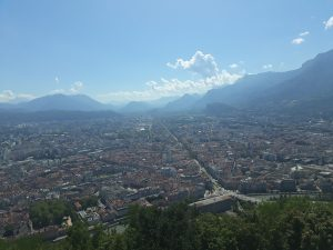 view cable car grenoble